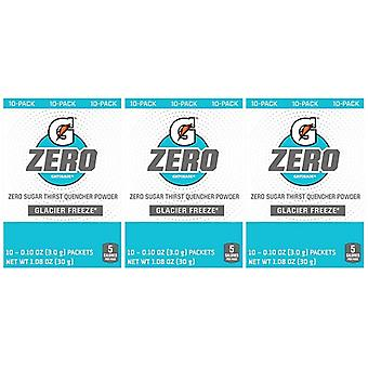 Gatorade Zero Glacier Freeze Singles Drink Mix 3 Pack