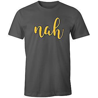 Boys Crew Neck Tee Short Sleeve Men's T Shirt- Nah