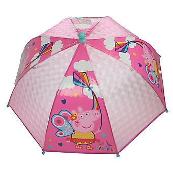 Peppa Pig Fairy Lets Go Fly A Kite Mini Dome Umbrella