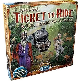 Ticket to Ride Heart of Africa Map Collection Volume 3 Board Game