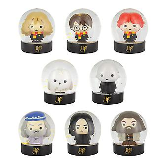 Harry Potter Snow Globe Coleccionables Harry Dumbledore Hermione Ron Grab Bag