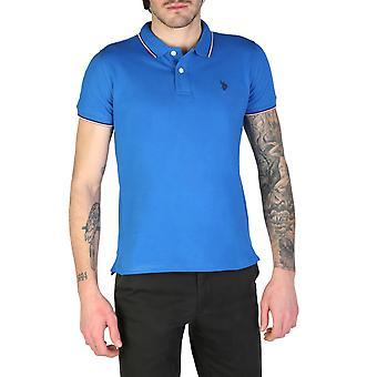 U.S. Polo Assn. Original Men Spring/Summer Polo - Blue Color 32976