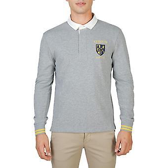 Oxford University Original Men Fall/Winter Polo - Grey Color 55717