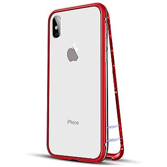 Magnetic adsorption iphone x case