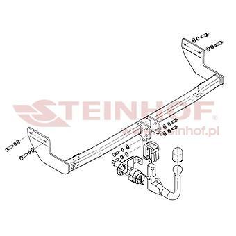 Steinhof Automatic Detachable Towbar (verticale) per Hyundai ix20 2010-2015