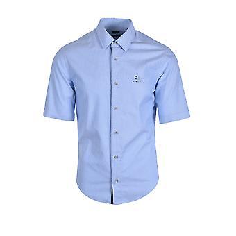 BOSS Athleisure Boss Bruny_regular Fit lyhythihainen paita keskipitkän sininen