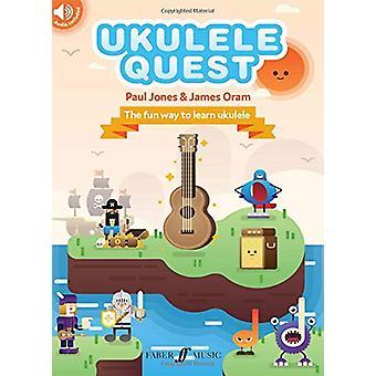 Ukulele Quest by Paul Jones - 9780571541010 Book