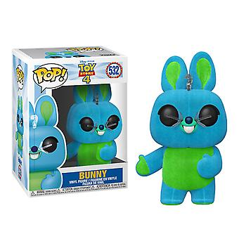 Toy Story 4 Bunny Flocked US Exclusive Pop! Vinyl