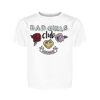 SmileyWorld Vintage Bad Girls Club Roses Girl's T-shirt
