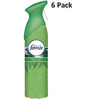 6 X 300 ml Febreze Air Freshener Can Spray - Nouvelle-Zélande