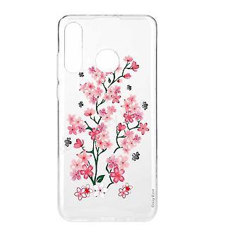 Rumpf für Huawei P30 Lite weiche Muster Blumen von Sakura