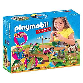 Playset Pony Ride Play Map Playmobil 9331
