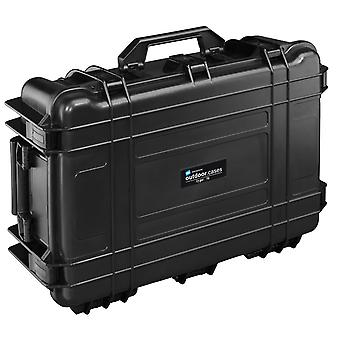 B&W Outdoor Case Type 70 2 Roues, Blanc, Noir