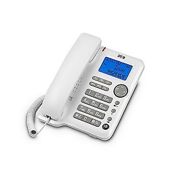 Telefone fixo SPC 3608B LCD Branco