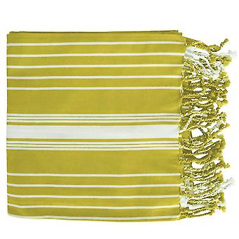 Eyas Turkish Towel Chartreuse