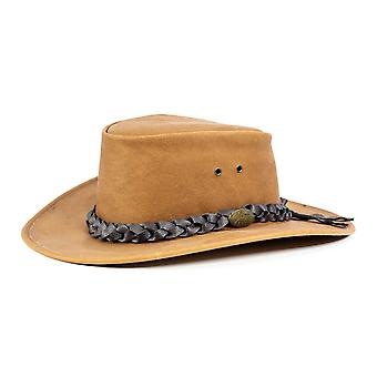 Jacaru 1069 buffalo leather hat