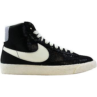 Nike Blazer Mid Suede Black/grey 518171-009 Women's