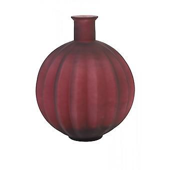 Light & Living Vase 33x42cm Palloci Glass Matt Dark Red