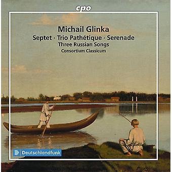 Glinka / Consortium Classicum - 3 Russische songs [CD] USA import