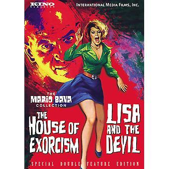 Lisa & the Devil/House of Exorcism [DVD] USA import