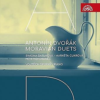 Dvorak / Saturova / Spurny - Moravian Duets [CD] USA import