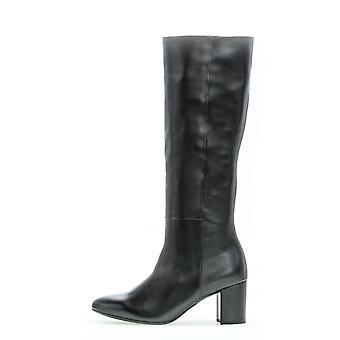 Gabor foulardcalf schwarz laarzen dames zwart 001