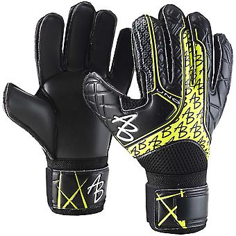 AB1 Impact UNO Black VOLT Goalkeeper Gloves Size