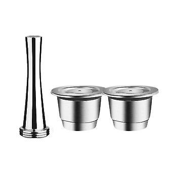 Nespresso Reusable Reutilisable Refillable Capsule Crema Espresso
