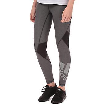 Women's adidas Alphaskin Badge Of Sport Leggings in Black