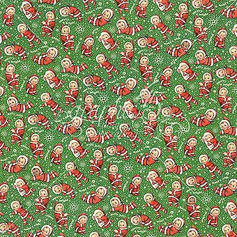 Grafisk 45 Santa's Little Helpers 12x12 Inch Paper Pack