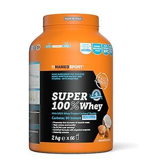 Super 100% whey 2 kg of powder (Almond - Coconut)