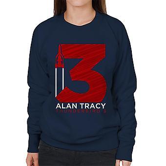 Thunderbirds Large 3 Graphic Women's Sweatshirt