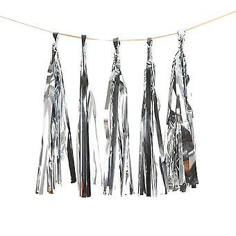 DIY Tissue Paper Tassel Garland for Wedding Kids Unicorn Birthday Party Decorations Baby Shower