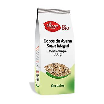 Pehmeä orgaaninen kaurapuuro hiutaleet 500 g