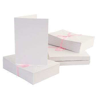 Anita's A6 -kortit & Kirjekuoret Valkoinen (100pk) (ANT 1511000)