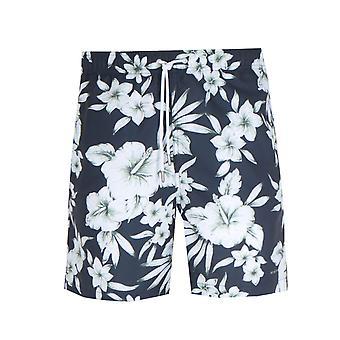 NN07 1239 Jules Print Navy Swim Shorts