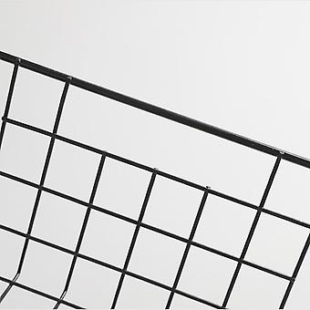 28x24.5x11cm Aufbewahrungskörbe Schwarz