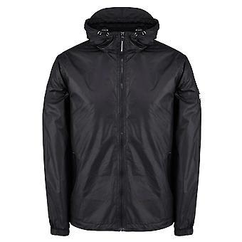 Weekend Offender Technician Lightweight Hood Jacket - Black