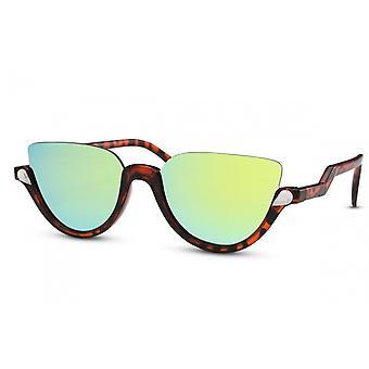 نظارات شمسية نسائية براون / الفراشة الخضراء (CWI1499)