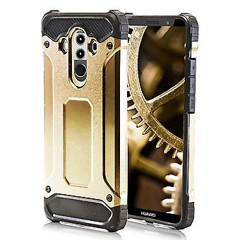 Shell for Huawei Mate 10 Pro - Gold Armor Hard Protection Case