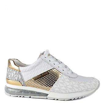 MICHAEL Michael Kors Allie Extreme Trainers Optic Blanc/or