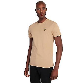 Lyle & Scott Plain T-Shirt - Sand Storm-XL