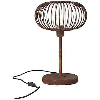 Brilliant Lampada Willard Lampada Lampada arrugginito 1x A60, E27, 60W, ad esempio lampade normali n. ent. | Con interruttore di interscambio a cavo