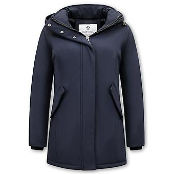 Winter coat Parka - Slim Fit - Blue