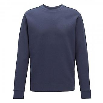 Boss Green Hugo Boss Salbo X Crew Neck Sweatshirt Navy 50410319
