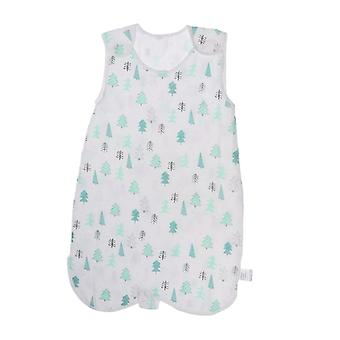 New Baby Girls Wearable Safe Muslin Blanket Summer Sleeping Bag