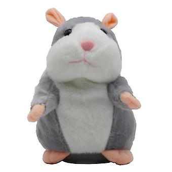 15 Cm Peluche Talking Hamster Mouse Pet Toy For Kid