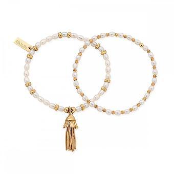 Bracelet ChloBo Pearl Love and Protection Bracelet GVP339