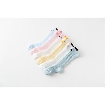 Baby Leg Warmers, Newborn Baby Knee High Long Pom Cartoon Bow Stockings