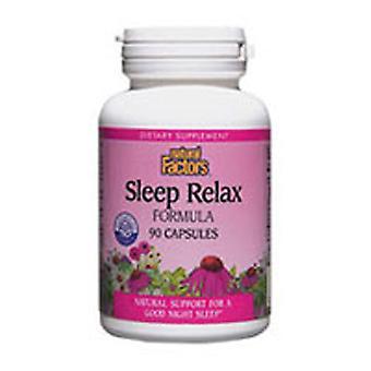 גורמים טבעיים שינה להירגע נוסחה, 90 כמוסות
